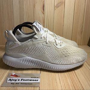 Adidas Alphabounce EM AH2646 White Athletic Shoes